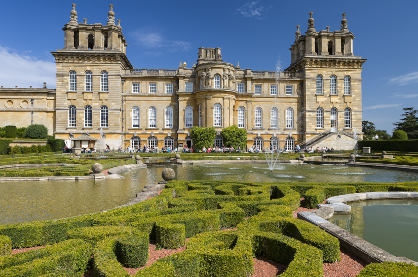 Blenheim Palace, a United Nations Educational, Scientific and Cultural Organisation World Heritage Site, Oxfordshire