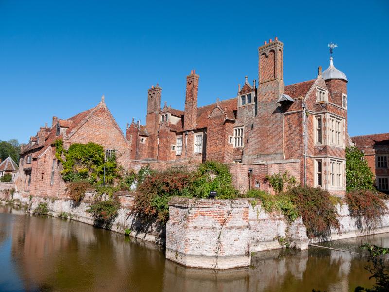 Kentwell Hall Suffolk Tudor Manor - Suffolk